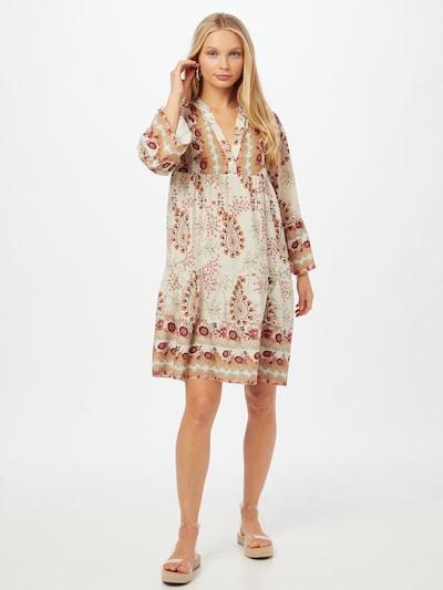 ZABAIONE Kleid 'Janna' in creme / mischfarben, Modelansicht