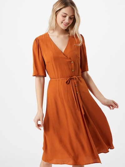 VILA Jurk in de kleur Sinaasappel, Modelweergave