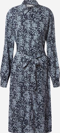 MOSS COPENHAGEN Robe-chemise 'Amaya Raye' en bleu marine / bleu clair, Vue avec produit