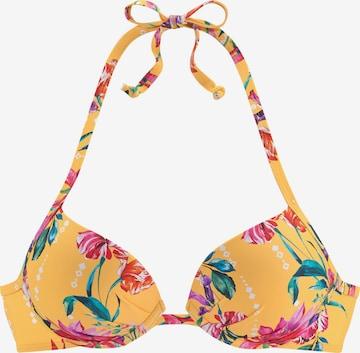 SUNSEEKER Bikini Top in Yellow