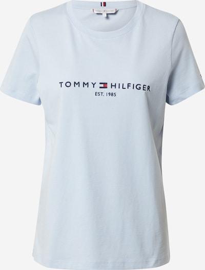 Tricou TOMMY HILFIGER pe navy / albastru deschis / roșu / alb, Vizualizare produs