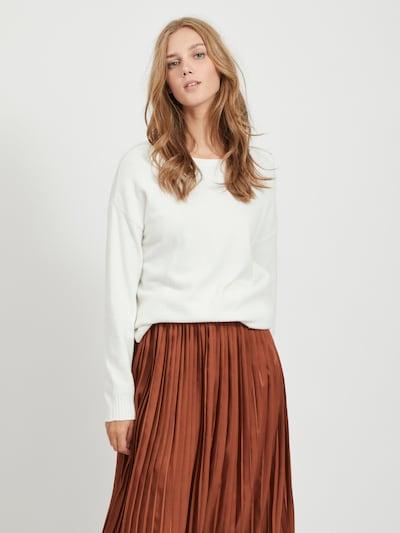 VILA Sweter 'Ril' w kolorze białym, Podgląd na modelu(-ce)