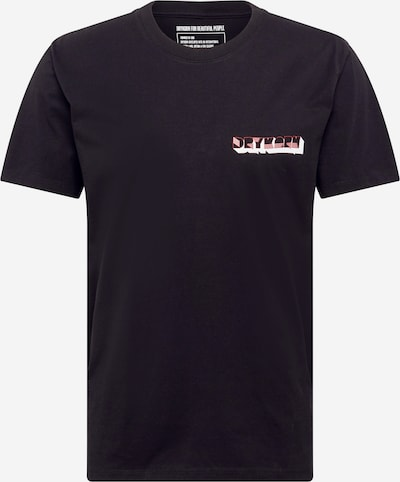 DRYKORN Shirt 'SAMUEL BAR' in light green / melon / pastel red / black / white, Item view