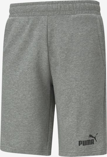 PUMA Sportbroek in de kleur Grijs gemêleerd / Zwart, Productweergave