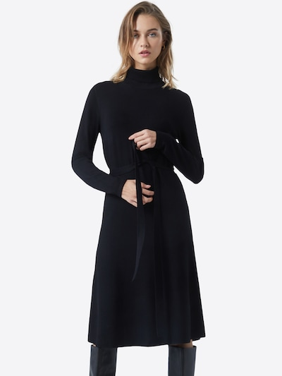 s.Oliver BLACK LABEL Kleid in schwarz, Modelansicht