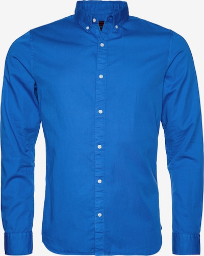 Superdry Overhemd in de kleur Royal blue/koningsblauw, Productweergave