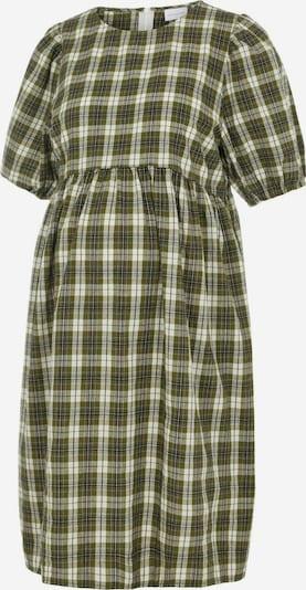 MAMALICIOUS Kleid in oliv / weiß, Produktansicht