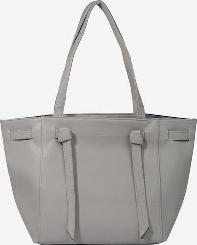 TOM TAILOR Nakupovalna torba 'Miri' | srebrno-siva barva: Frontalni pogled