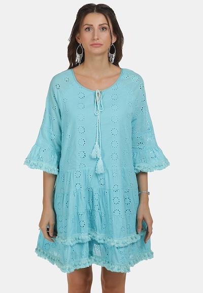 IZIA Kleid in türkis, Modelansicht