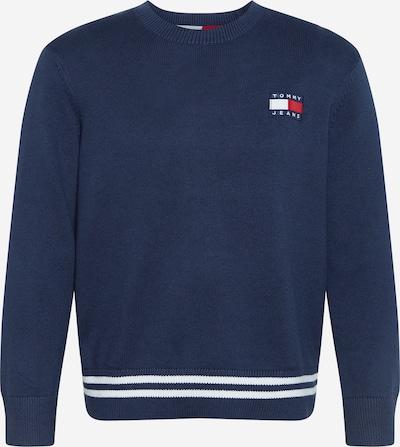 Tommy Jeans Sveter - námornícka modrá / biela, Produkt