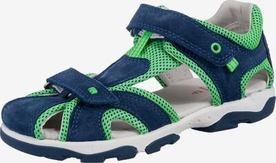 ELEFANTEN Sandale in dunkelblau / grün, Produktansicht