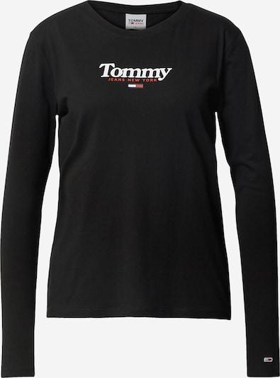 Tricou Tommy Jeans pe roșu / negru / alb, Vizualizare produs