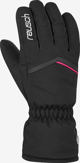 REUSCH Athletic Gloves 'Marisa' in Pink / Black / White, Item view