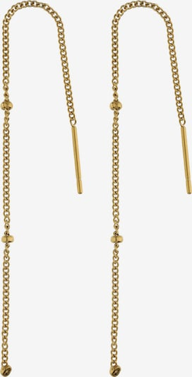 Six Ohrringe in gold, Produktansicht