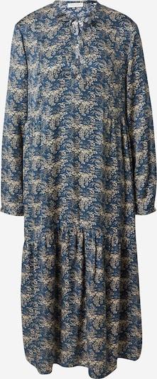 Marc O'Polo Robe en beige clair / bleu foncé, Vue avec produit