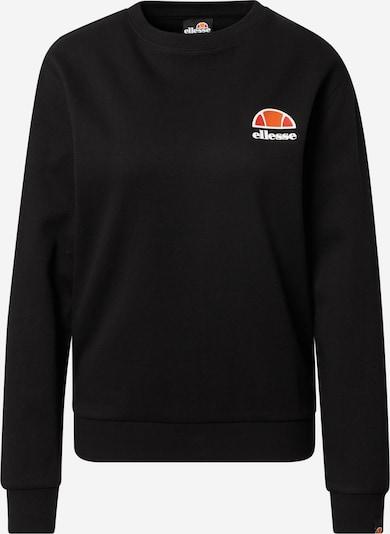ELLESSE Sweatshirt 'Ashburton' i orange / svart / vit, Produktvy