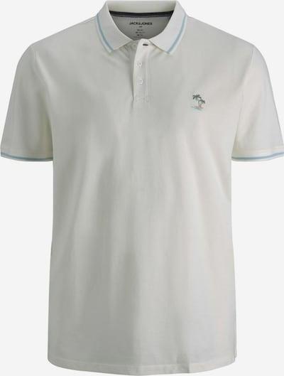 Jack & Jones Plus Shirt in de kleur Lichtblauw / Wit, Productweergave