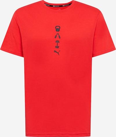 PUMA Camiseta funcional en rojo / negro, Vista del producto