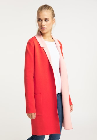 usha BLUE LABEL Knit Cardigan in Red