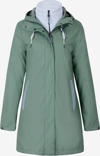 Dingy Rhythm Of The Rain Functionele jas in de kleur Groen / Mintgroen / Pastelgroen, Productweergave
