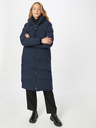 ICEPEAK Winter Coat in marine blue, View model