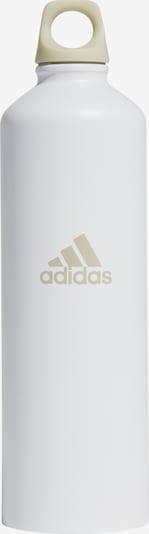 ADIDAS PERFORMANCE Trinkflasche in hellbeige / weiß, Produktansicht