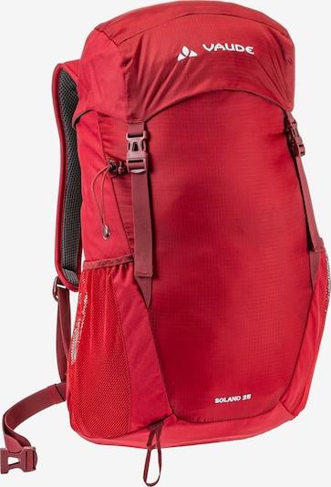 VAUDE Wanderrucksack 'SOLANO 25L' in rot, Produktansicht