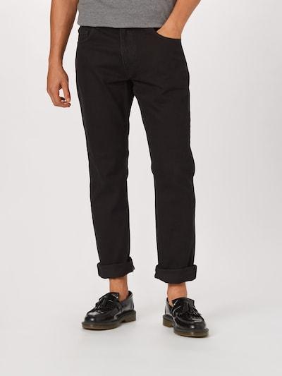 NU-IN Jeans in black denim, Modelansicht