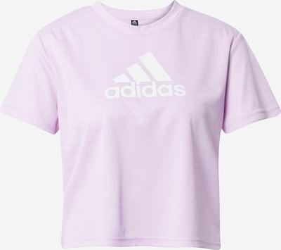 ADIDAS PERFORMANCE Tehnička sportska majica u ljubičasta / bijela, Pregled proizvoda