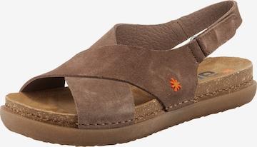 ART Sandals 'Rhodes ' in Brown