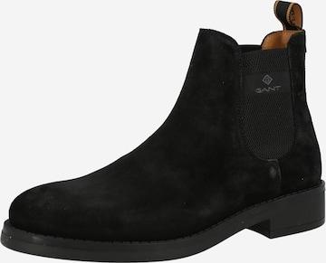 GANT Chelsea-bootsit 'Brookly' värissä musta