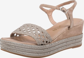UNISA Sandalette 'Kisome' in Beige