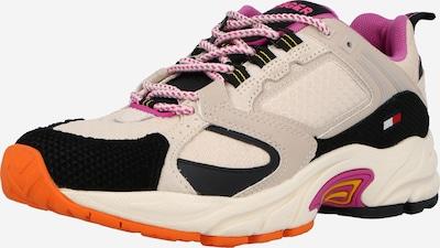 Sneaker low Tommy Jeans pe bej / fucsia / negru, Vizualizare produs