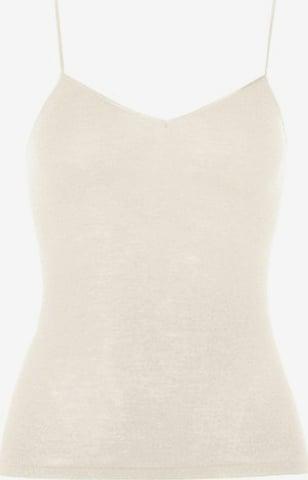 Hanro Top ' Woolen Silk ' in Wit
