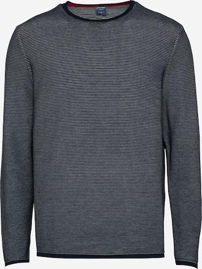 OLYMP Пуловер в морскосиньо / светлосиво, Преглед на продукта