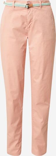 ESPRIT Lærredsbukser i jade / gammelrosa, Produktvisning