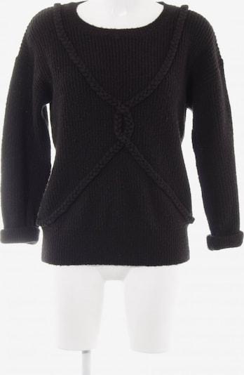 Wemoto Strickpullover in S in schwarz, Produktansicht