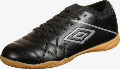UMBRO Fußballschuh 'Medusae III Club Indoor' in grau / schwarz, Produktansicht