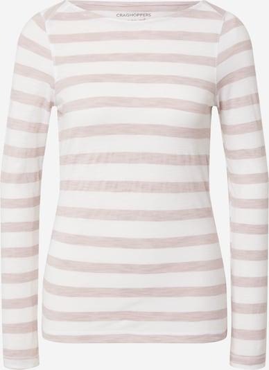 CRAGHOPPERS T-shirt fonctionnel 'Erin' en violet clair / blanc, Vue avec produit