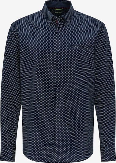 PIERRE CARDIN Hemd in dunkelblau, Produktansicht