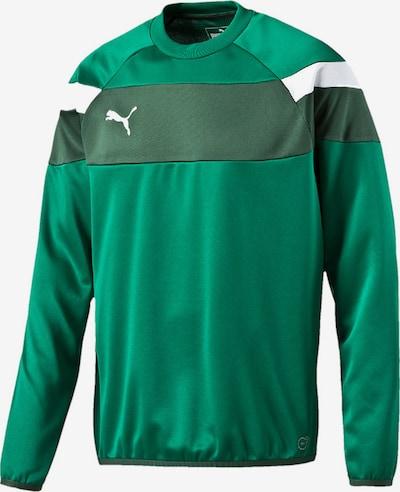 PUMA Sweatshirt in grün, Produktansicht