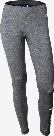 Champion Authentic Athletic Apparel Leggings in grau / weiß, Produktansicht