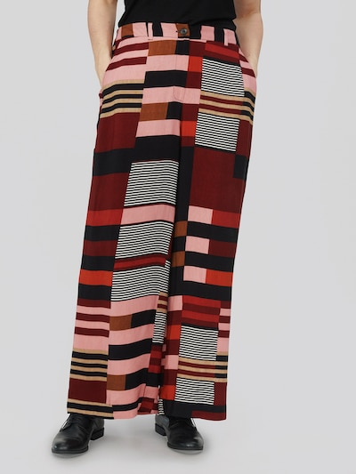 Masai Pants 'Perinus' in Mixed colors / Red, View model