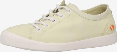 Softinos Sneakers laag in de kleur Lichtgroen, Productweergave