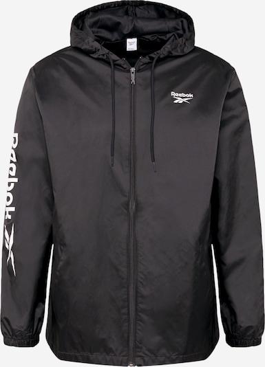Reebok Classic Tussenjas in de kleur Zwart / Wit, Productweergave