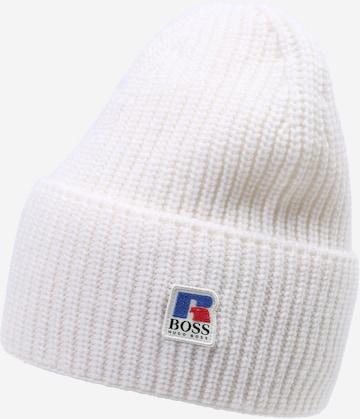 BOSS Mütze in Weiß