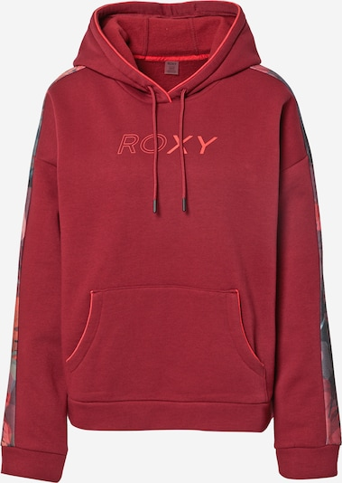 ROXY Sportsweatshirt 'MUSIC FEELS BETTER' in mischfarben / weinrot, Produktansicht