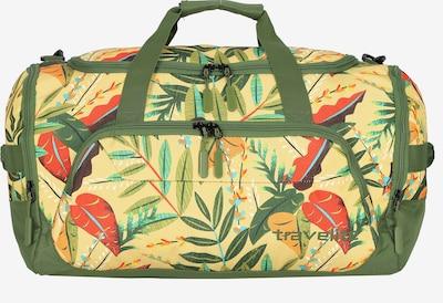 TRAVELITE Weekender 'Kick Off ' in hellgelb / mischfarben, Produktansicht