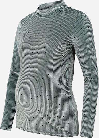 MAMALICIOUS T-shirt 'NELLE' i pastellgrön / svart, Produktvy