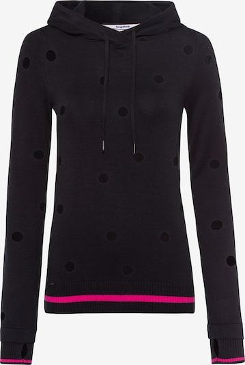 KangaROOS Kapuzenpullover in schwarz, Produktansicht